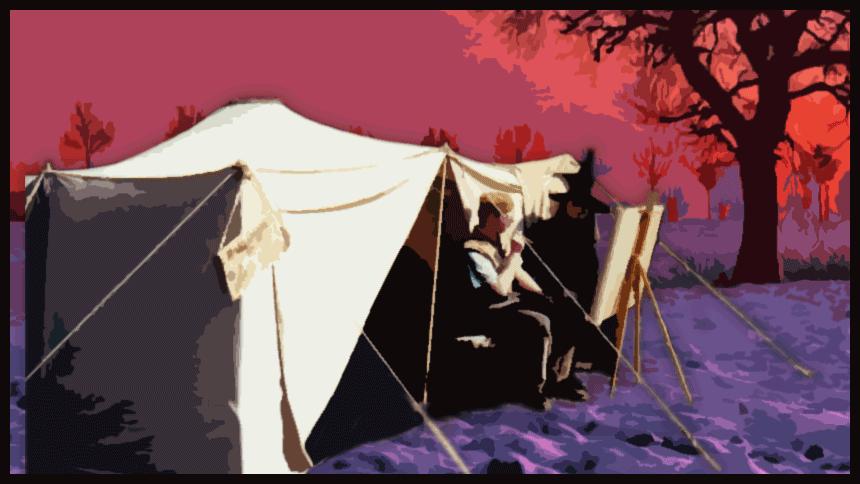 Das geheimnisvolle Zelt